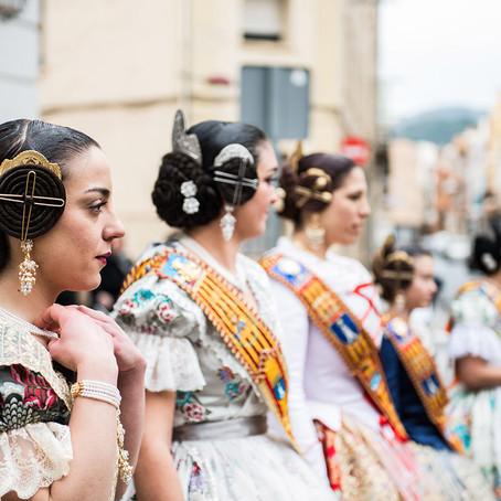 Carla, fallera mayor Corts Valencianes