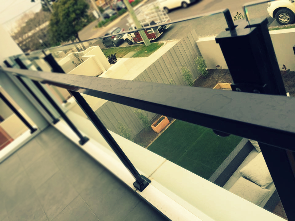 Clear Aluminium Balustrade