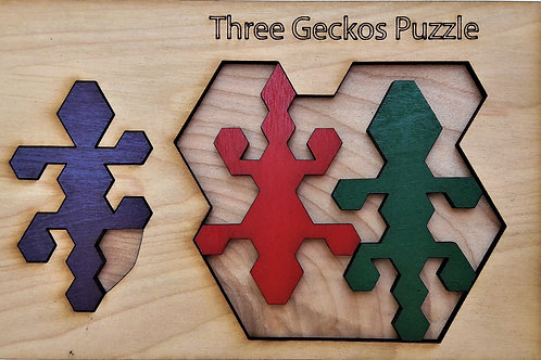 Three Geckos Puzzle