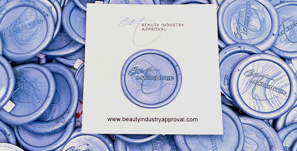 Blue Wax Seal's - 50pck