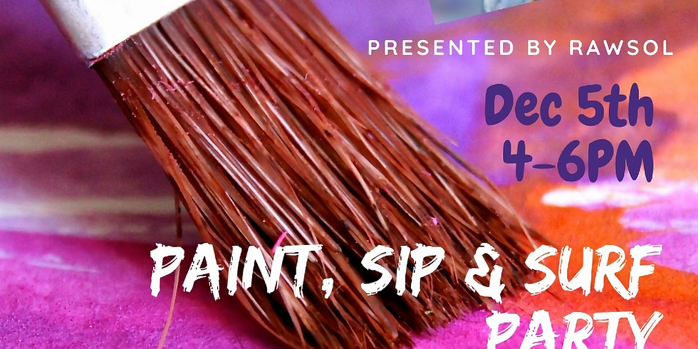 Paint, Sip and Surf
