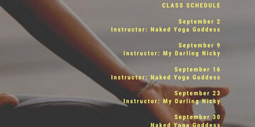 Wellness Wednesday Yoga w. Naked Yoga Goddess