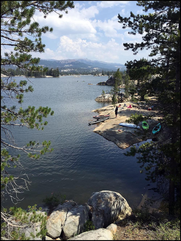 Camping at Utica Reservoir