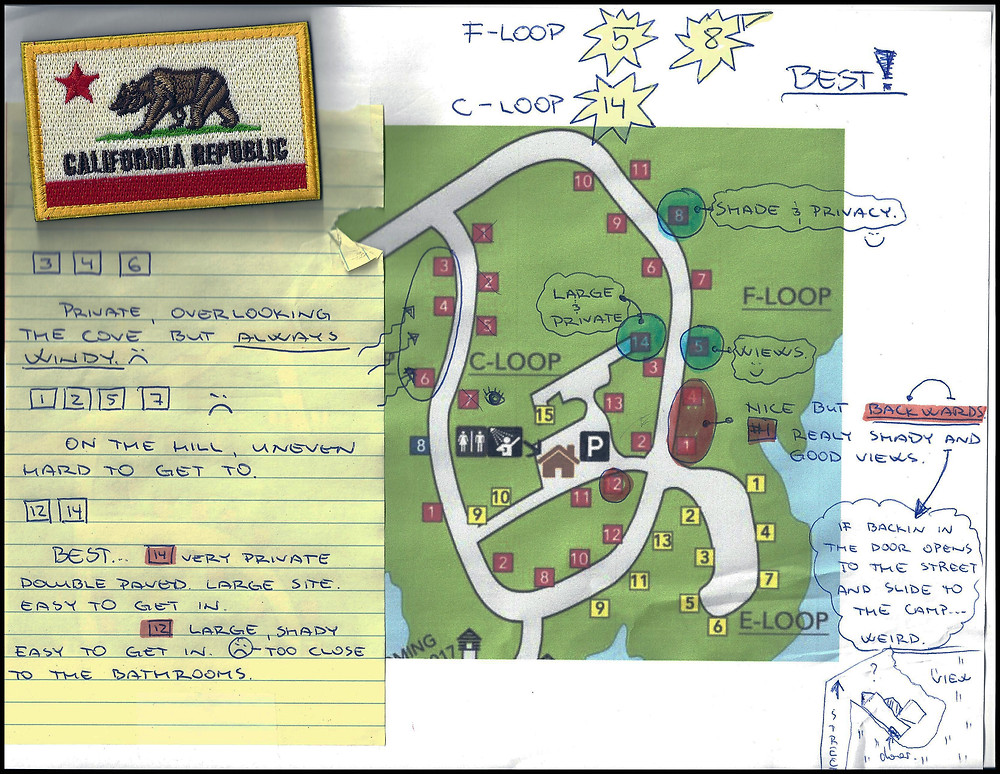 Lake McSwain Loop C Information