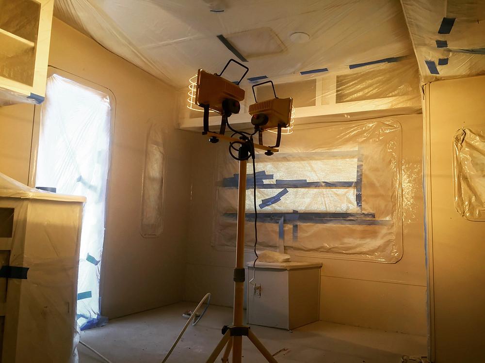 Painting RV