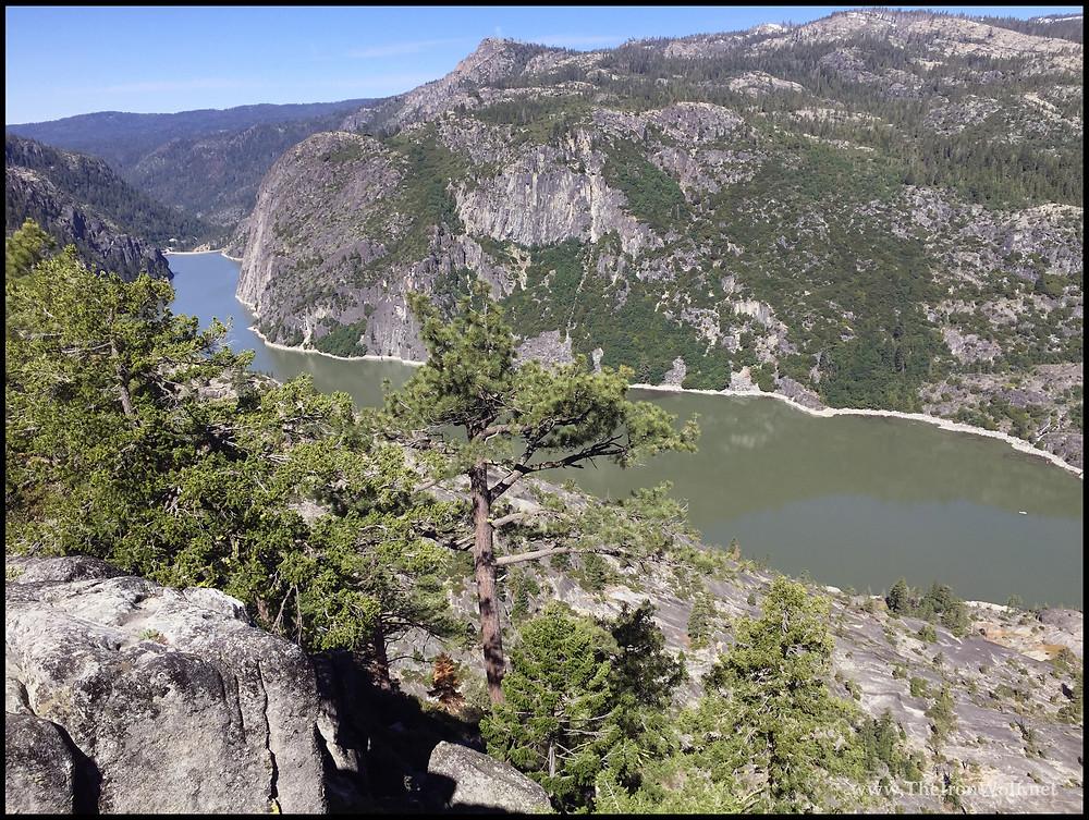 Mountain Lake in Sierra Nevada Mountains, California