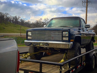 1985 Truck Build