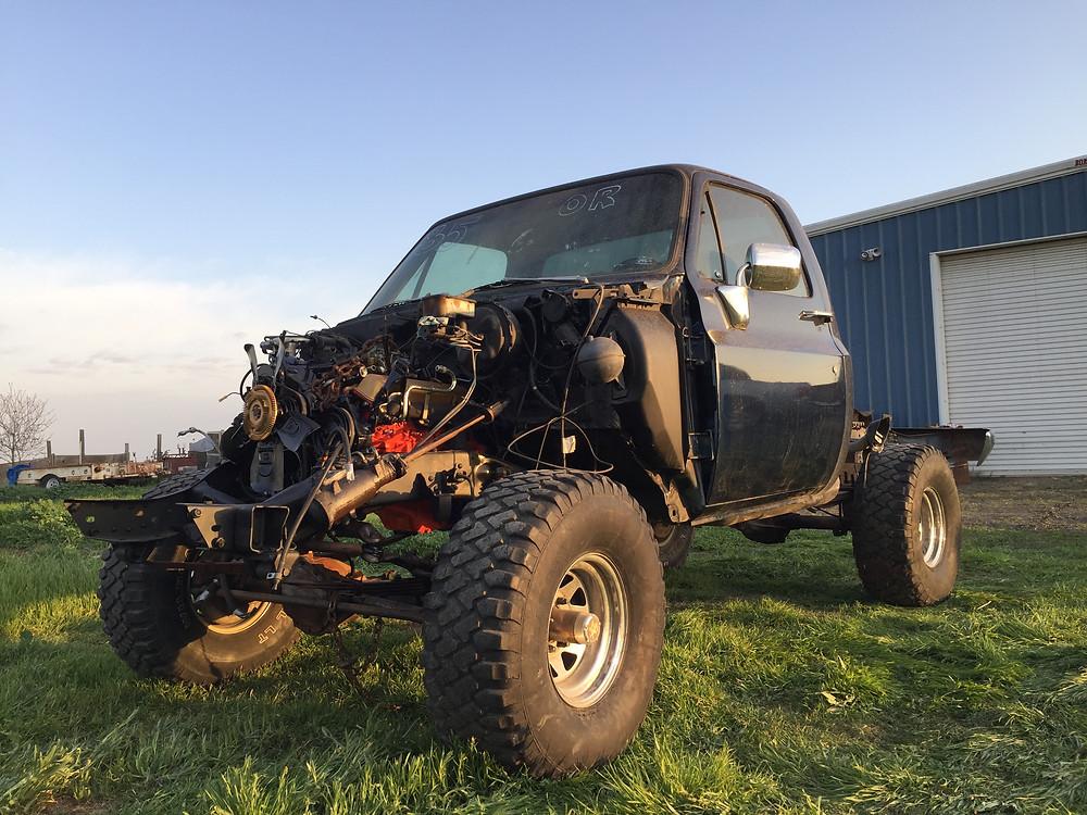 1985 K10 Truck Build