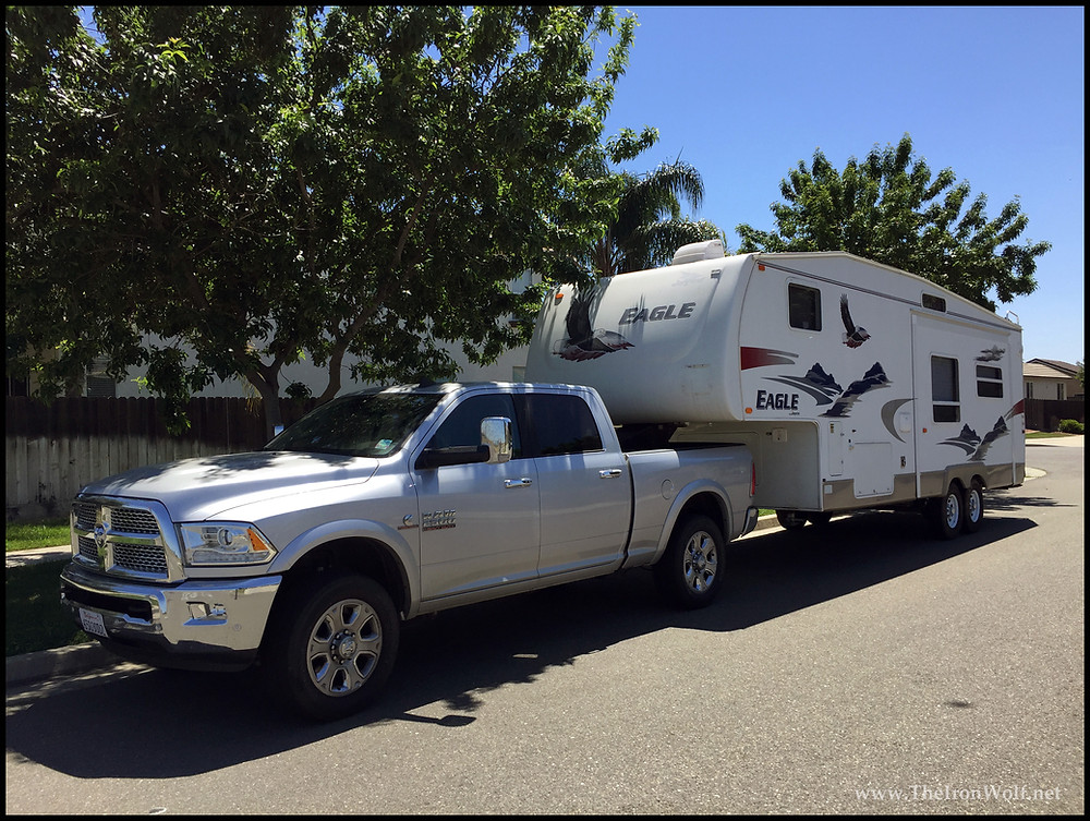 2017 Dodge Ram 2500 and 2006 Jayco Eagle 5th Wheel