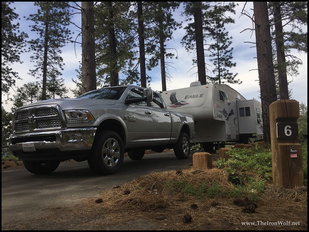 2017 Dodge Ram 2500 and 2006 Jayco 5th Wheel