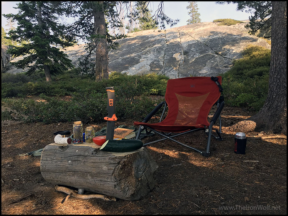 Camping in Sierra Nevada Mountains