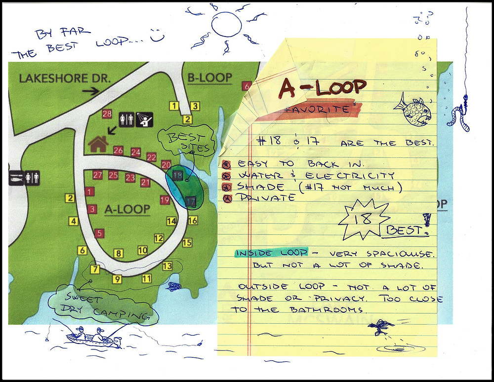 lake McSwain Loop A Information