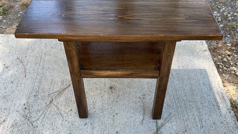 "Rustic Poplar Table ""LOCAL SHIPPING ONLY"""