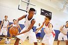 Un match de basket