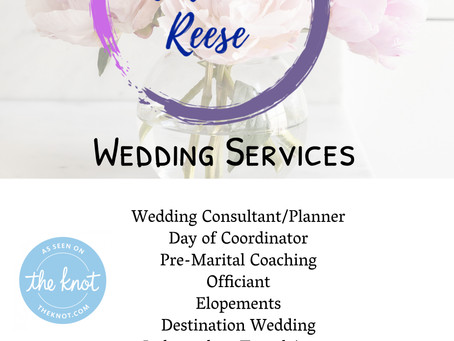 Micro Weddings are the new norm. How can that work for you. Contact us for more information.
