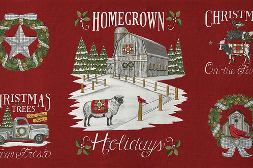 Homegrown Holiday - Red