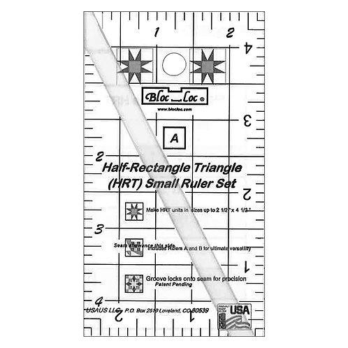 Half Rectangle Triangle - Small Ruler