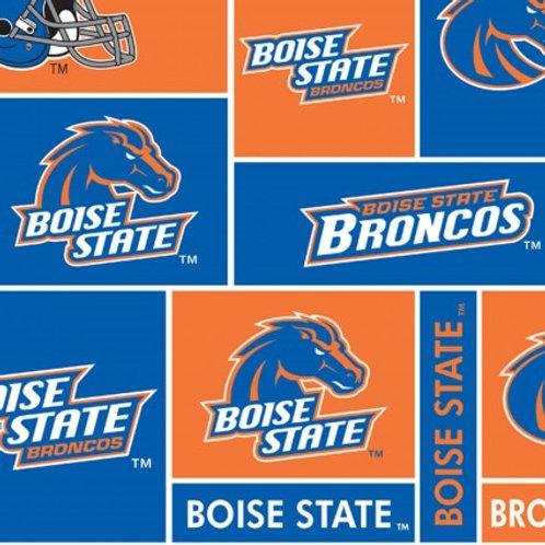 Boise State - Fleece Squares