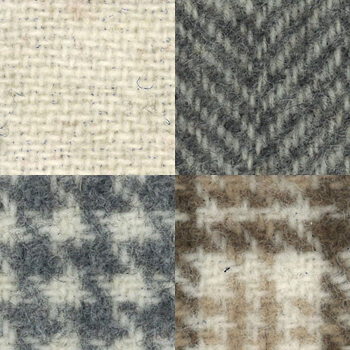 Wool Fat Quarter - Ecru
