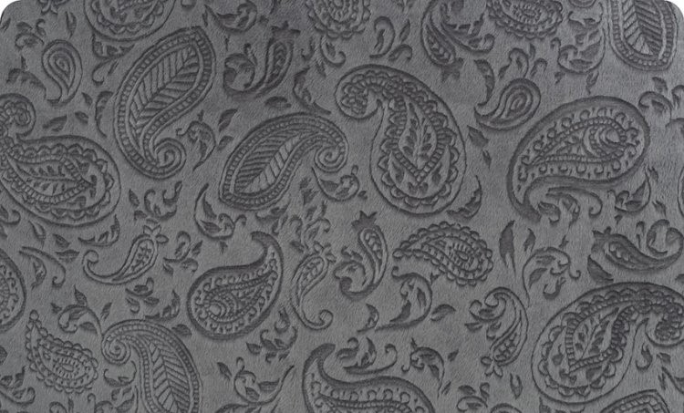 Embossed Paisley - Granite
