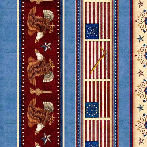 American Pride - Blue Stripe