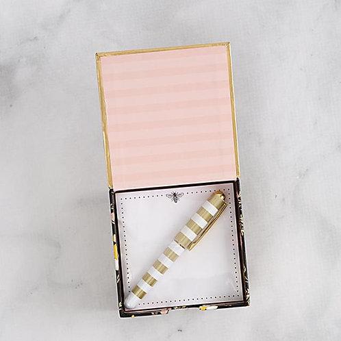 Memo Box with Pen