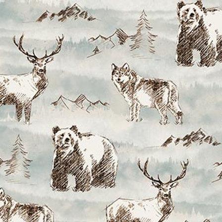Misty Mountain - Wild Animal