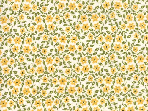 Nova - Bleached Floral Linen