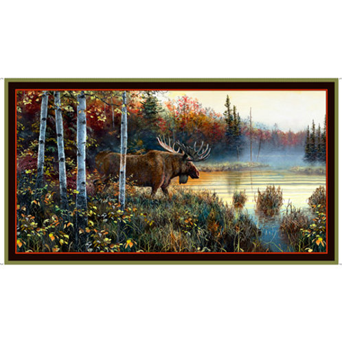 Moose Country - Brown