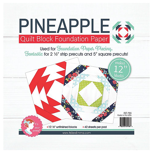Pineapple Foundation Paper - 12 inch