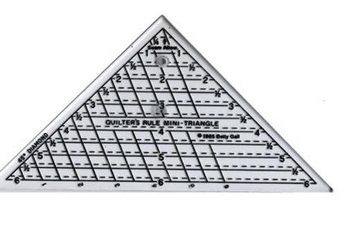 """Mini Right Triangle Ruler - 6"""""""