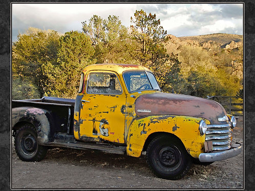 Trains, Planes and Autos - Old Yellow Truck