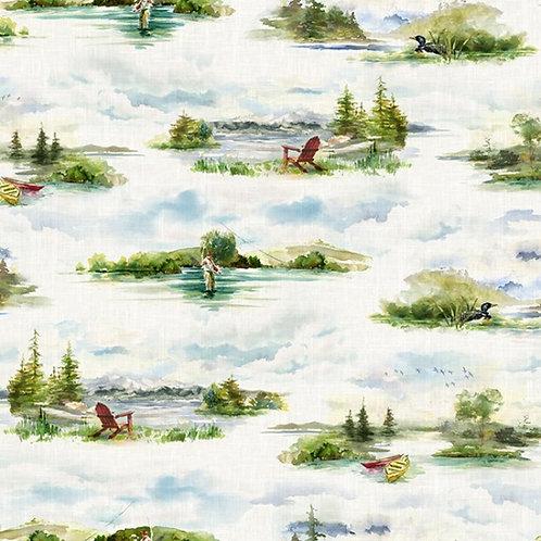 Fly Home - Lake