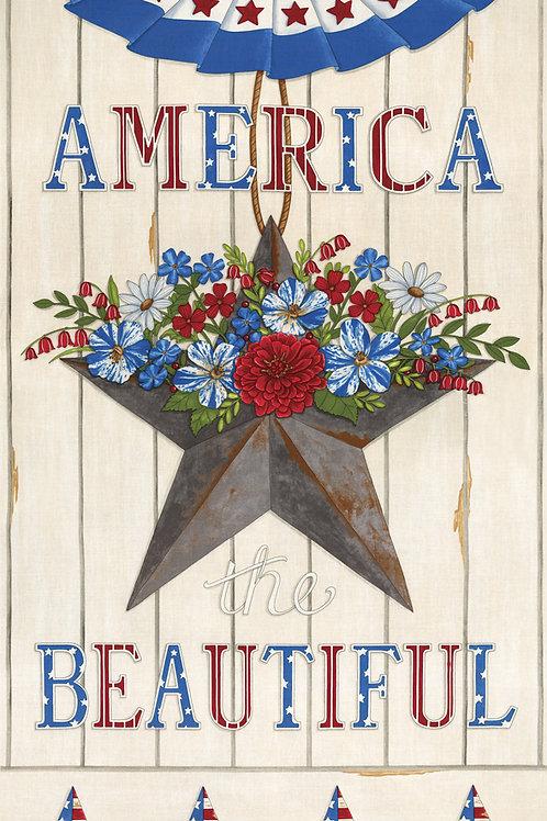 America Beautiful - White