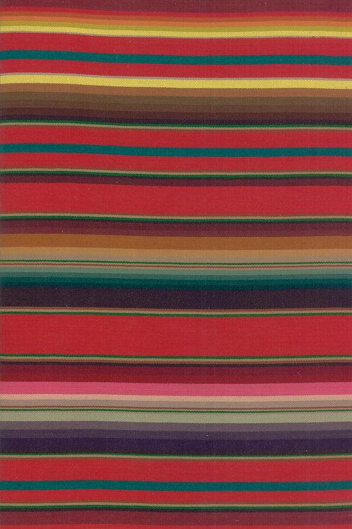 Santa Fe Serape - Stripe Red
