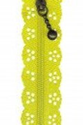 Little Lacy Zippers - D. Yellow