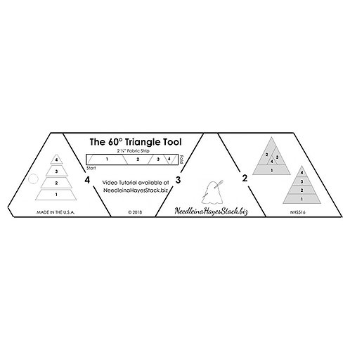 60 Degree Triangle Tool - Ruler