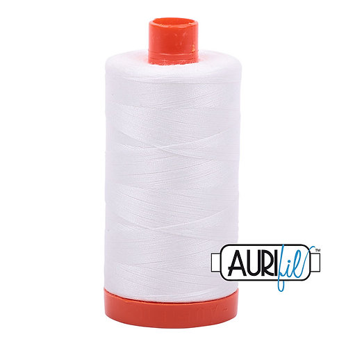 Cotton  Mako Thread - White
