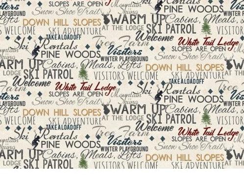 Winter Playground - Words