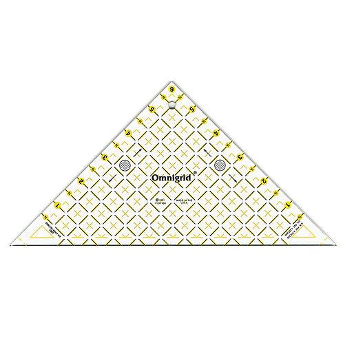 "Triangle Ruler - 1/2"" SQ6"""