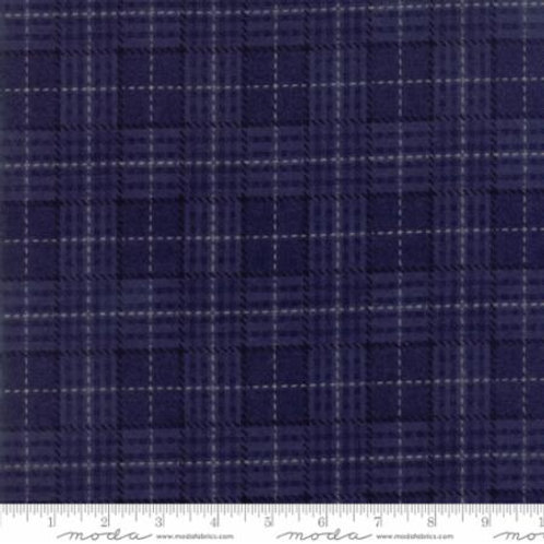 Wool Needle IV - Denim Blue (Flannel)