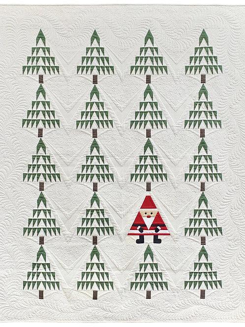 Santa in the Pines - Kit