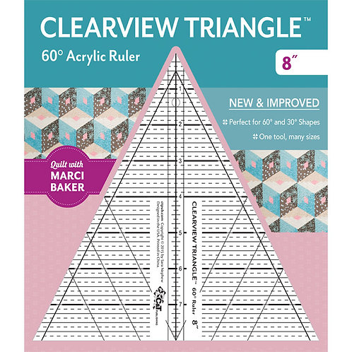 """Clearview Triangle - 8"""""""
