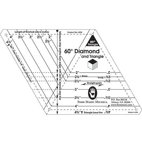 Diamond & Triangle Template