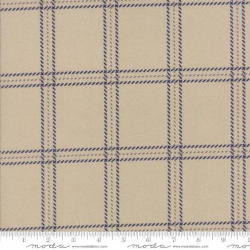 Wool Needle IV - Barn Board (Flannel)