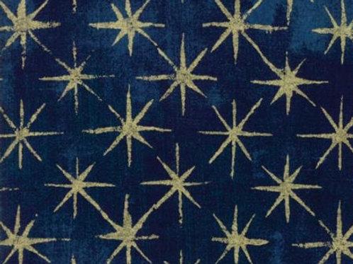 Grunge Seeing Stars - Navy