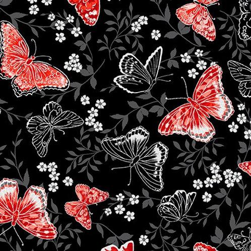 Poppy Promenade - Butterfly