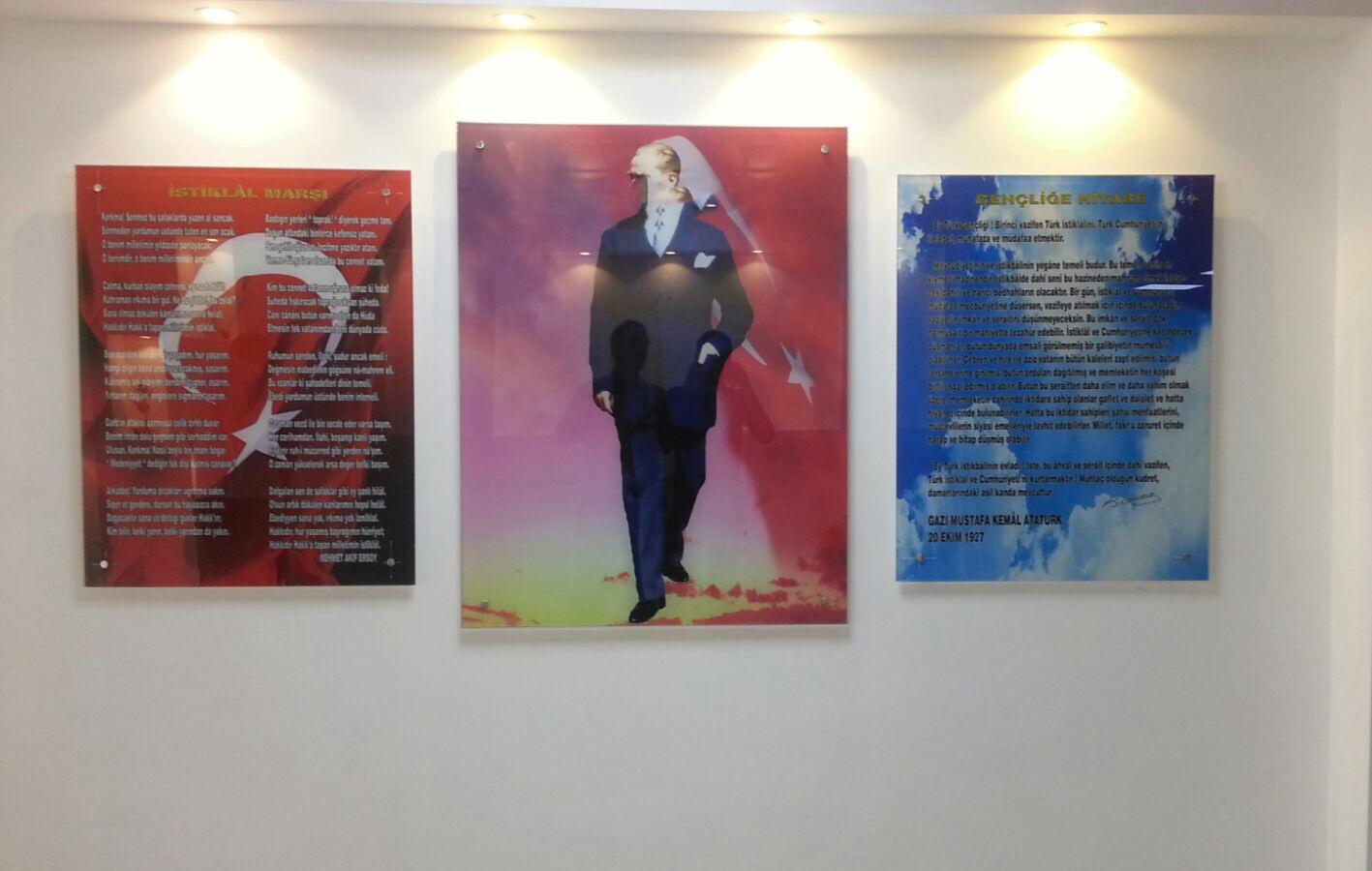 Atatürk Köşesi İstiklal Marşı