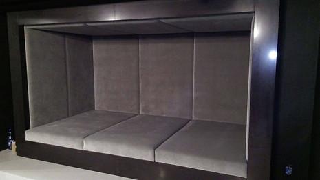 Glenview - Basement sitting bench