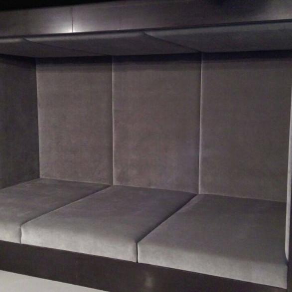 Highland Park - basement sitting bench